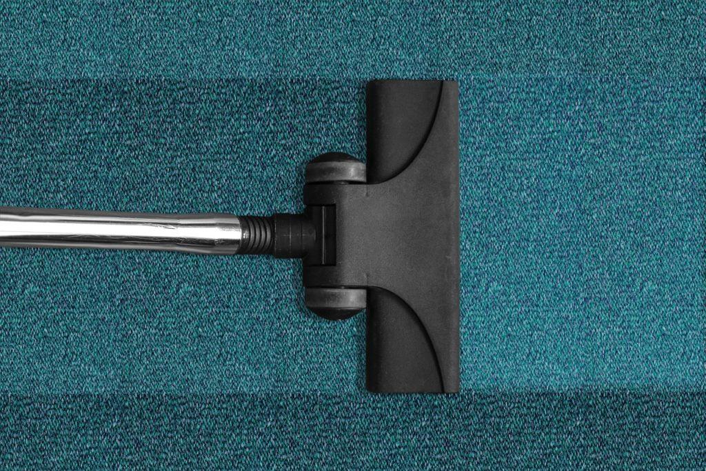 dry wet carpet